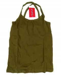 Camisetas Blusas y Tops - Top hippie básico, TOHC35 - Modelo Verde o