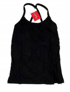 Camisetas Blusas y Tops - Top hippie básico, TOHC35 - Modelo Negro