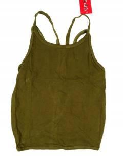 Camisetas Blusas y Tops - Top hippie básico, TOHC35 - Modelo Verde