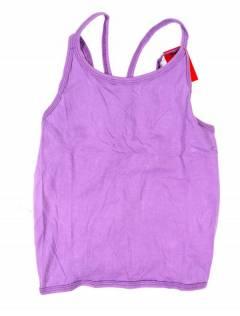 Camisetas Blusas y Tops - Top hippie básico, TOHC35 - Modelo Lila