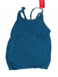 Camisetas Blusas y Tops - Top hippie básico, TOHC36 - Modelo Azul