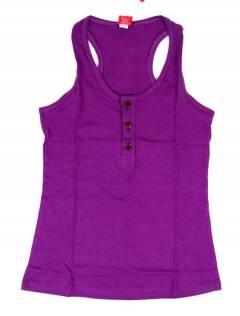 Camisetas Blusas y Tops - Top hippie básico, TOHC37 - Modelo Morado