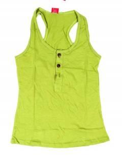 Camisetas Blusas y Tops - Top hippie básico, TOHC37 - Modelo Verde