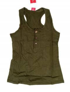 Camisetas Blusas y Tops - Top hippie básico, TOHC37 - Modelo Verde a