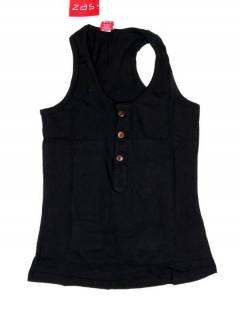 Camisetas Blusas y Tops - Top hippie básico, TOHC37 - Modelo Negro