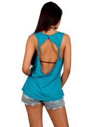 Camisetas y Tops Hippies - top expandex poliester liso TOJO04.