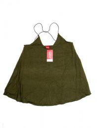 top blusa amplia expandex Mod Verde