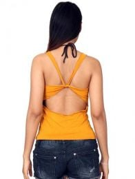 Hippie Clothing Outlet - Crossed Strap Back Top [TOJO11] to buy wholesale or detail in the Alternative Ethnic Hippie Outlet category.