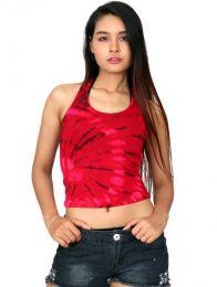 Top hippie tie dye TOJO13 para comprar al por mayor o detalle  en la categoría de Ropa Hippie Alternativa para Mujer.