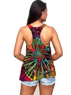 Camisetas y Tops Hippies - Top hippie Teñido Tie TOJU02.