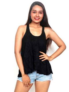 T-Shirts, Blouses and Tops - Plain Hippie Top [TOJU02P] to buy wholesale or detail in the category of Hippie Clothing for Women.