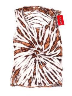 Top rasgado espalda Tie Dye TOJU08 para comprar al por mayor o detalle  en la categoría de Bisutería Hippie Étnica Alternativa.