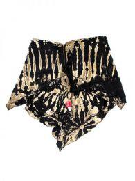 Top y Blusas Hippie Boho Ethnic - Top - falda la prenda que TOJU09 - Modelo Negro