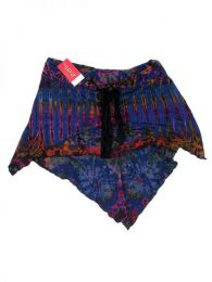 top - falda expandex poliester Mod Azul