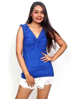 T-shirts, Blouses and Tops - Plain tank top [TOJU12P] to buy wholesale or detail in the category of Hippie Clothing for Women.
