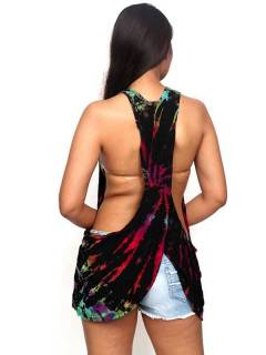 Top tirante tie dye TOJU15 para comprar al por mayor o detalle  en la categoría de Ropa Hippie Alternativa para Mujer.