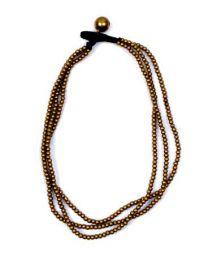 Tobilleras Hippies - Tobillera bolas de rodio o latón sobre hilo encerado con cascabeles [TOMS01] para comprar al por mayor o detalle  en la categoría de Bisutería Hippie Étnica Alternativa.