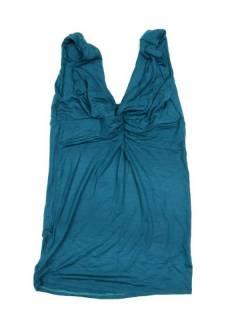 Camisetas Blusas y Tops - Top Liso espalda abierta tirante. TOPN03P - Modelo Azul