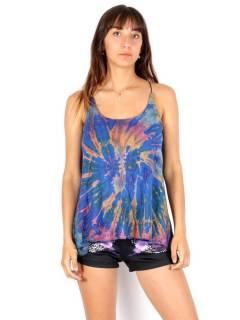 Top large à bretelles tie dye, pour acheter en gros ou détail dans la catégorie Vêtements Hippie Femme | Magasin alternatif ZAS. [TOPN04]