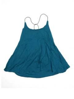Camisetas Blusas y Tops - top blusa amplia recta expandex TOPN04P - Modelo Azul