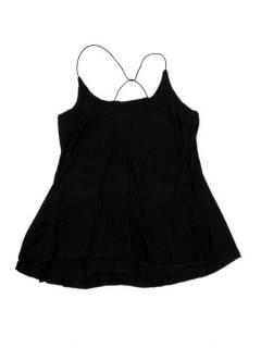 Camisetas Blusas y Tops - top blusa amplia recta expandex TOPN04P - Modelo Negro