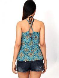 Top hippie con estampado mandalas. detalle del producto