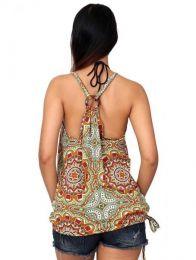 Top hippie con estampado mandalas detalle del producto