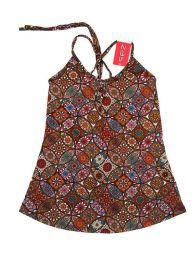 Top hippie estampado mandalas TOSN08 para comprar al por mayor o detalle  en la categoría de Bisutería Hippie Étnica Alternativa.