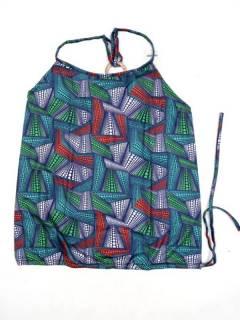 Camisetas Blusas y Tops - Top hippie con estampado flores TOSN13 - Modelo 212