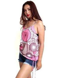 Camisetas Blusas y Tops - Top hippie con estampado flores TOSN14.