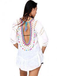 Top y Blusas Hippies Alternativas - Top hippie de algodón TOTE01.