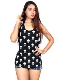 Top hippie skulls TOUN34B to buy wholesale or detail in the category of Alternative Hippie Clothing for Women.