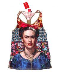 Top y Blusas Hippie Boho Ethnic - Blusa con estampado Frida TOUN42.