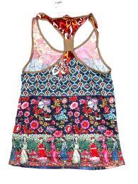 Camisetas y Tops Hippies - Blusa con estampado Frida TOUN42.