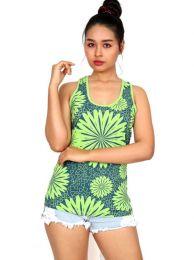 TOUN45 camicetta stampa fiori etnici da acquistare all'ingrosso o dettaglio nella categoria Abbigliamento Hippie per Donna.