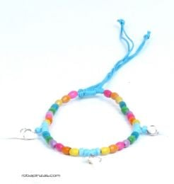 Adjustable anklet made of wooden beads with shark teeth, to buy wholesale or detail in the Alternative Ethnic Hippie Jewelry and Silver category | ZAS Online Store. [TOVI02]