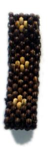 Pulsera de bolas de madera, 5 lineas Comprar - Venta Mayorista y detalle