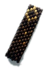 Pulsera de bolas de madera, 5 lineas para Comprar al mayor o detalle