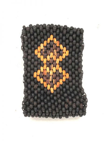 Pulsera de boitas de madera ancha [PUCG3] para comprar al por Mayor o Detalle en la categoría de Pulseras Hippie Etnicas