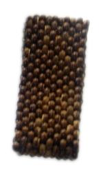 Pulsera de bolas de madera, 10 lineas, elástica para Comprar al mayor o detalle