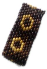 Pulsera de bolas de madera, 10 lineas, elástica - D Comprar al mayor o detalle