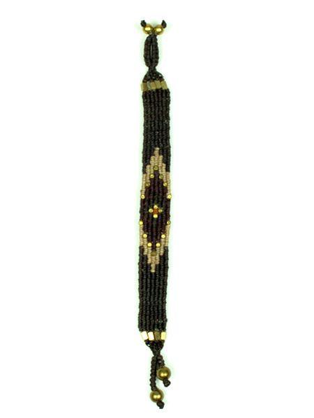 Pulsera étnica macramé PUHA02 para comprar al por mayor o detalle  en la categoría de Bisutería Hippie Étnica Alternativa.