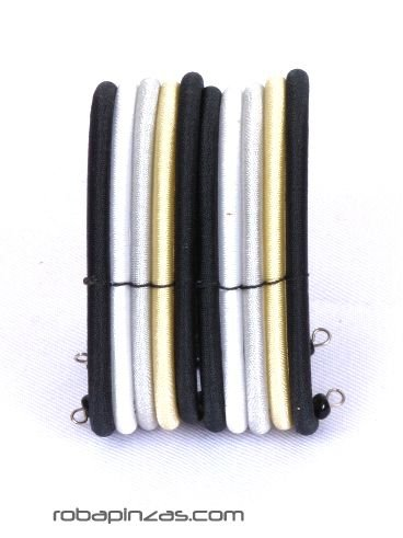 Outlet Bisutería hippie - Pulsera rígida algodón multicolor 10 lineas [PULI02] para comprar al por mayor o detalle  en la categoría de Outlet Hippie Étnico Alternativo.