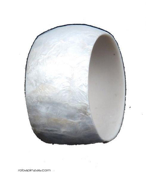 Pulsera tipo bangle ancha realizada en fibra. Comprar - Venta Mayorista y detalle