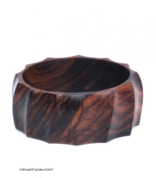 Pulseras Hippie Etnicas - Pulsera madera ancha tipo bangle PUPA03 para comprar al por Mayor o Detalle en la categoría de Bisutería Hippie Étnica Alternativa