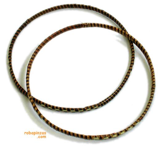 Pulseras tipo Bangle, de Rafia, varios tamaños para Comprar al mayor o detalle