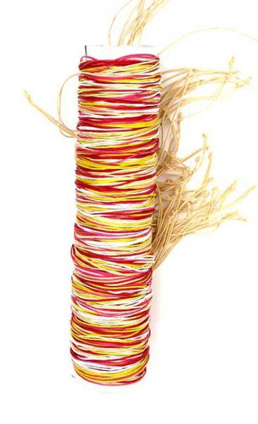 Pulsera multivueltas cáñamo. pulsra realizada con cordón de algodón [PUVI12] para Comprar al mayor o detalle