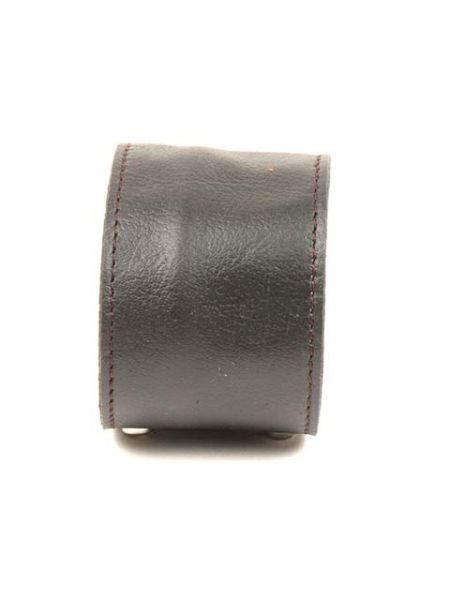 Pulsera con cremallera oculta, de cuero ancha, cierre doble clip Comprar - Venta Mayorista y detalle