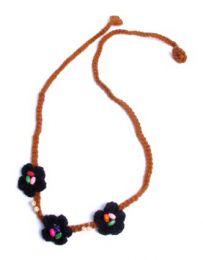 Flores para la frente de croché, estilo hippie, para comprar al por mayor o detalle  en la categoría de Accesorios de Moda Hippie Bohemia | ZAS.[VACH01_2]