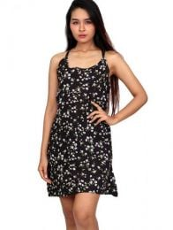 Hippie Clothing Outlet - Flower print dress [VECT04] to buy wholesale or detail in the Alternative Ethnic Hippie Outlet category.
